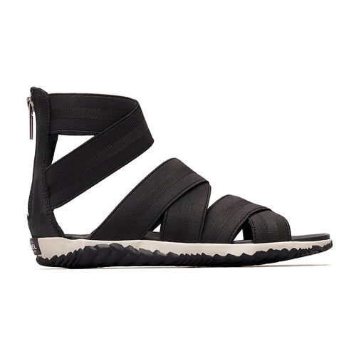 Women's Out 'N About™ Plus Strap Sandal - Black