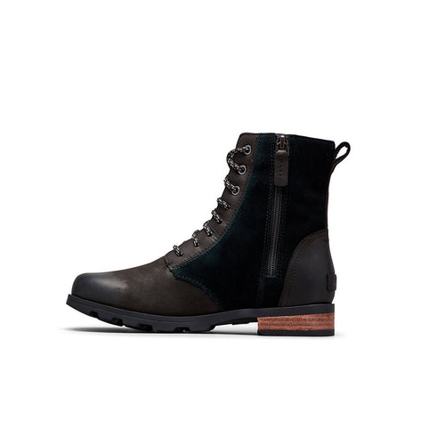 Women's Emelie Short Lace Boot - Black