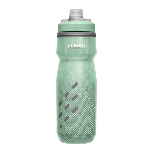 Podium Chill 21oz Insulated Bike Bottle - Sage Perforated