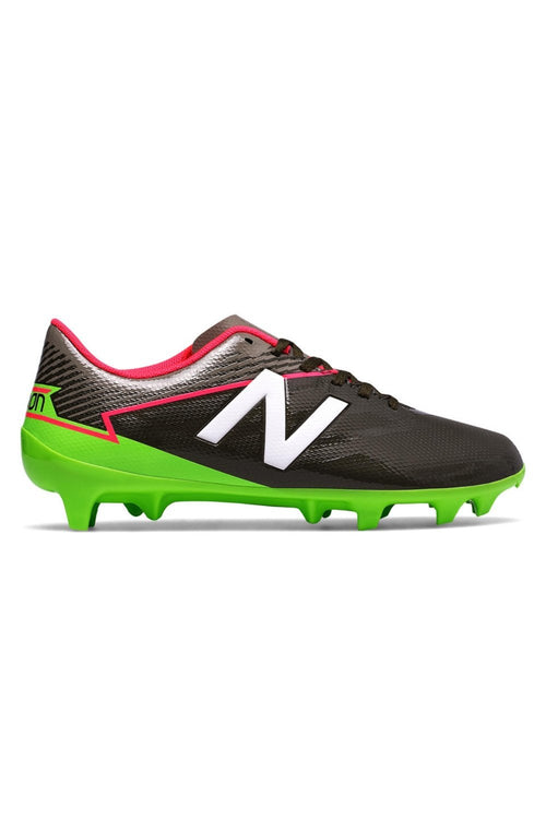 Youth Furon 3.0 Dispatch Firm Ground Cleat - Military Dark Green/Alpha Pink