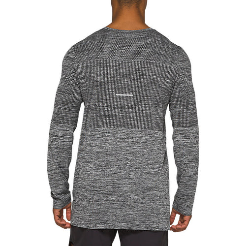 Men's Race Seamless Long Sleeve Top - Performance Black