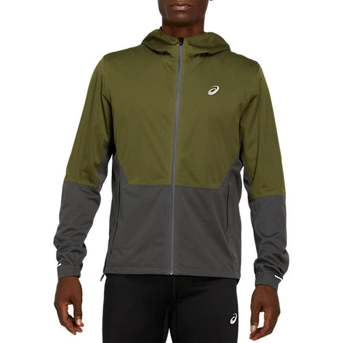 Men's Winter Accelerate Jacket - Smog Green/Graphite Grey