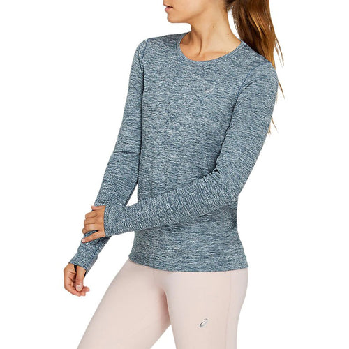Women's Race Seamless Long Sleeve Top - Magnetic Blue