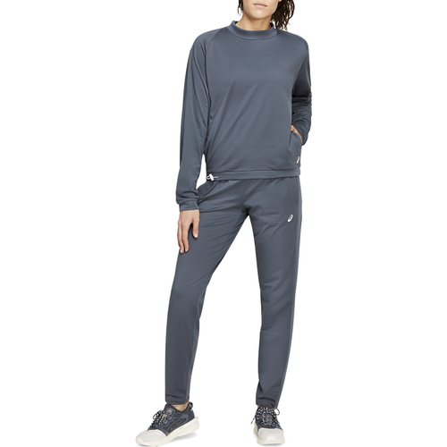 Women's Thermopolis Fleece Crop Crew - Carrier Grey