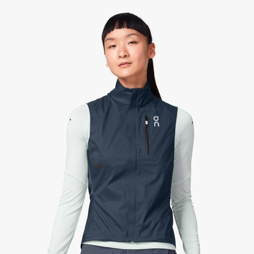 Women's Weather Vest - Navy/Shadow