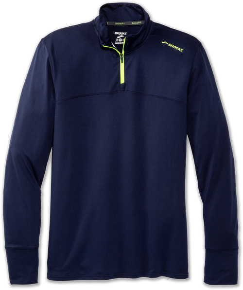 Men's Dash 1/2 Zip - Navy/Nightlife