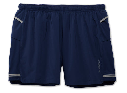 "Men's Sherpa 5"" Running Short - Navy"