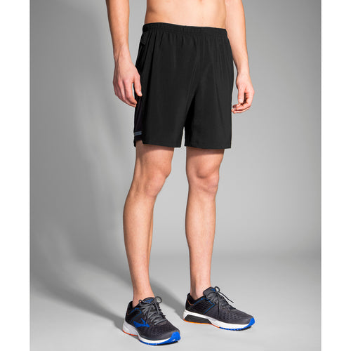 "Men's Sherpa 7"" 2-in-1 Short - Black"