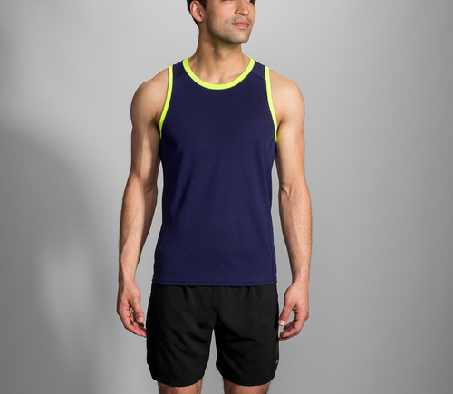 Men's Distance Tank - Navy/Nightlife