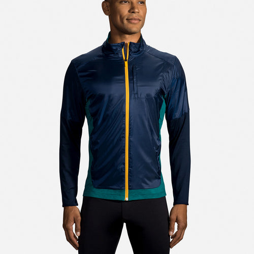 Men's Fusion Hybrid Jacket - Navy