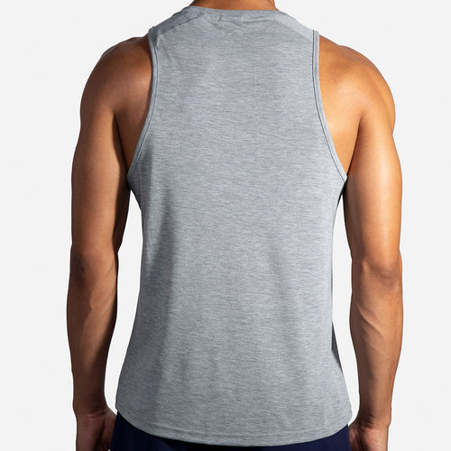 Men's Distance Tank - Heather Ash