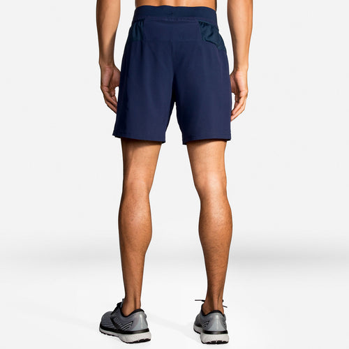 "Men's Sherpa 7"" 2-In-1 Short - Navy"