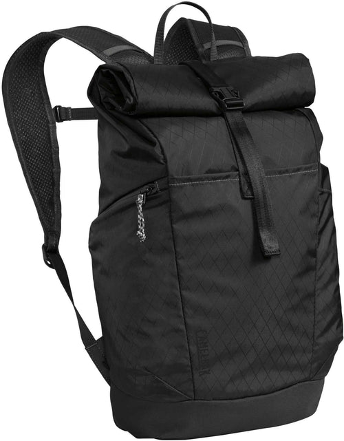 Pivot Roll Top Backpack - Black