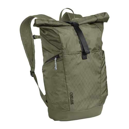 Pivot Roll Top Backpack - Dusty Olive