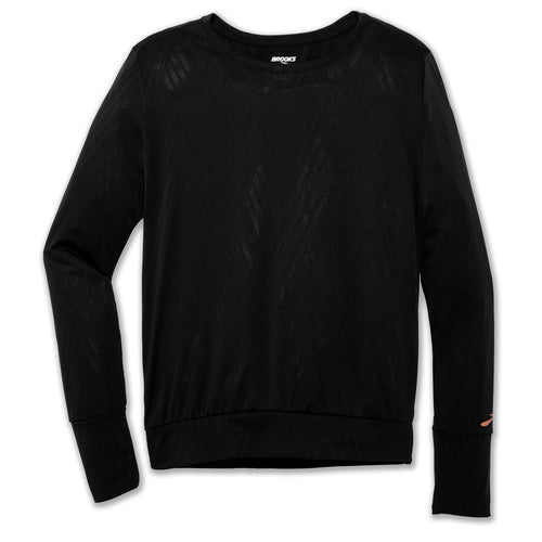 Women's Array Long Sleeve Top -Black