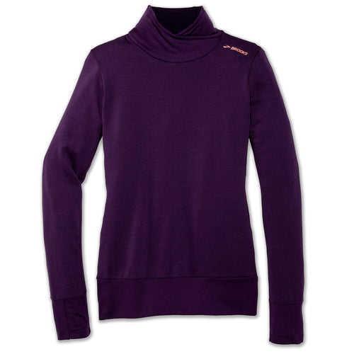 Women's Notch Thermal Long Sleeve - Heather Berry