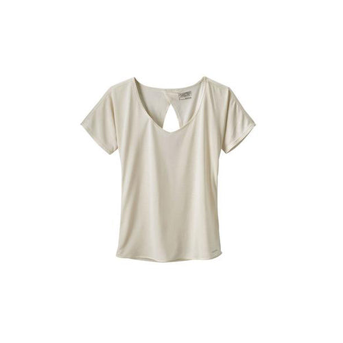 Women's Short Sleeve Mindflow Shirt - Birch White