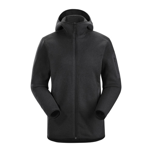 Women's Covert Hoody - Black Heather