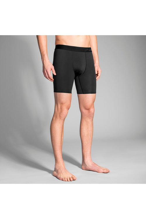 Men's All-In Training Boxer Brief - Black