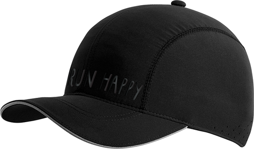 Run Happy Chaser Hat - Black