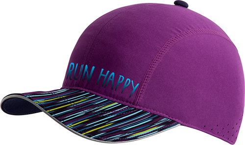 Run Happy Chaser Hat - Violet/Navy Lightray