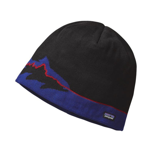 Men's Beanie Hat - Fitz Trout: Black