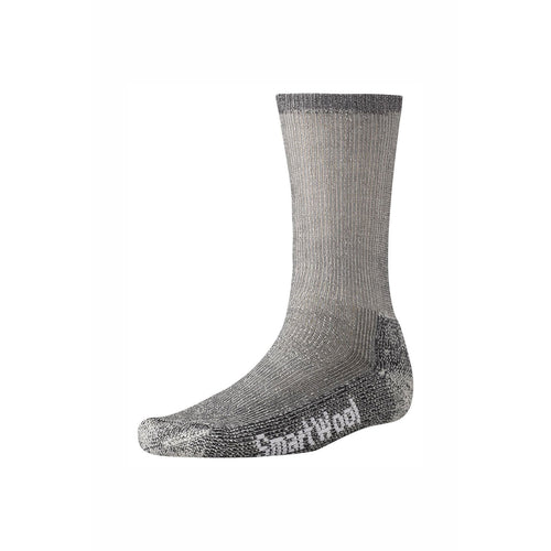 Men's Trekking Heavy Crew Socks - Grey