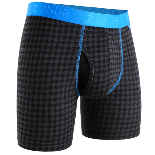 Swing Shift 6in Boxer Brief-DogTooth