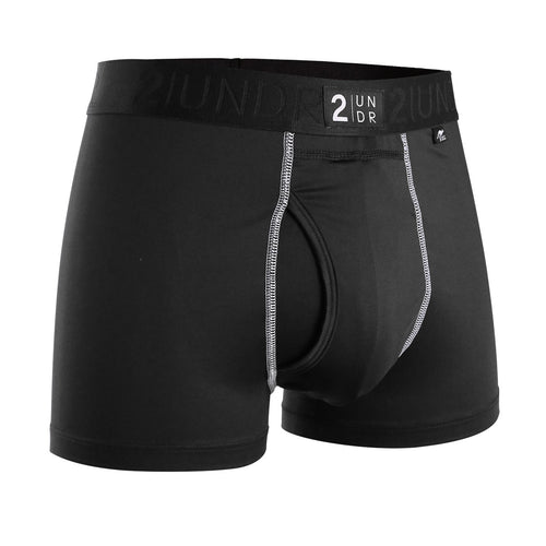 "Men's Power Shift 3"" Boxer Brief - Black"