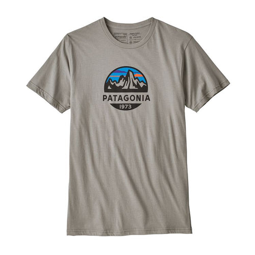 Men's Fitz Roy Scope Organic T-Shirt - Feather Grey
