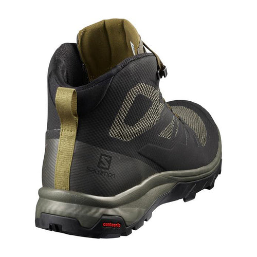 Men's Outline Mid GTX  Hiking Boot - Black/Beluga/Capers