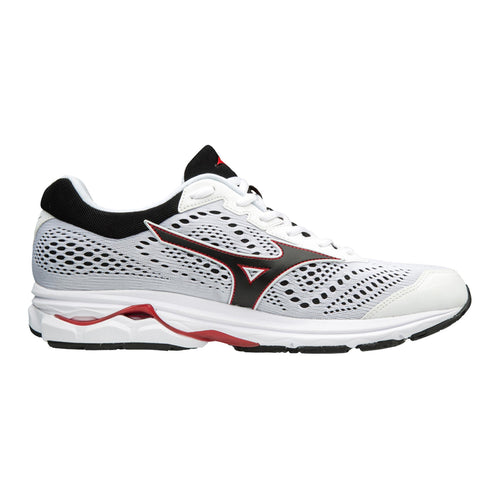 Men's Wave Rider 22 Running Shoe - WHITE/RED