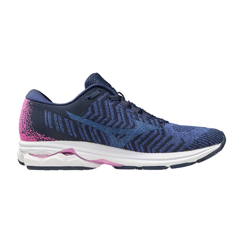 Women's Rider WaveKnit 3 Running Shoe - Dazzling Blue/Ultra Marine