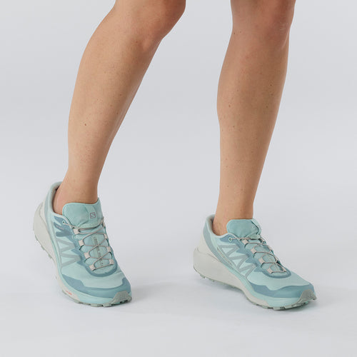 Women's Sense Ride 4 (B - Regular) Running Shoe - Pastel Turquoise/Lunar Rock/Slate