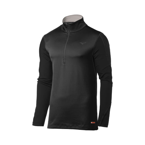 Men's Breath Thermo 1/2 Zip - Black