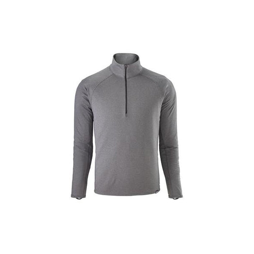 Men's Capilene® Midweight Zip-Neck Top - Forge Grey - Feather Grey X-Dye