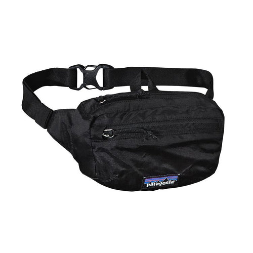Light Weight Travel Mini Hip Pack-Black