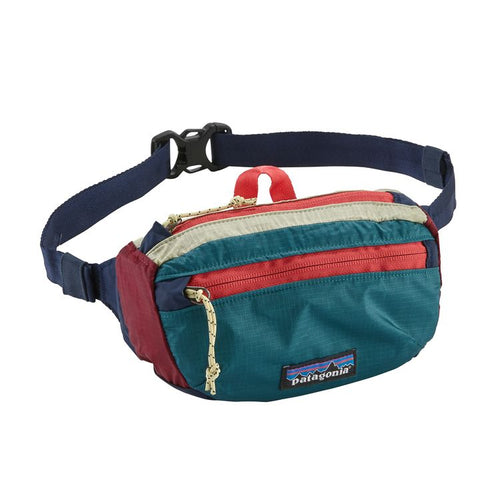 Light Weight Travel Mini HipPack-Patchwork Arrow Red/Classic Navy
