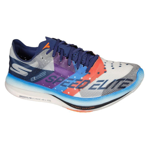 Men's GOrun Speed Elite Hyper (D - Regular) Running Shoe - White/Multi