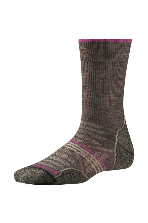 Women's PhD® Outdoor Light Crew Socks - Taupe