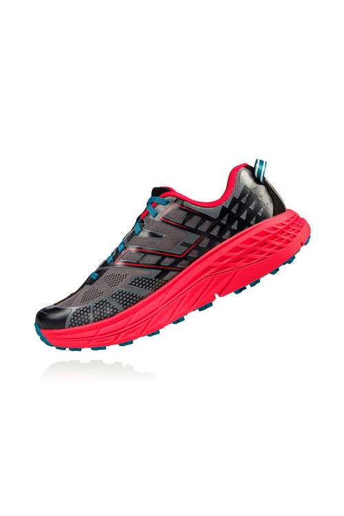 Men's Speedgoat 2 Running Shoe - Black/True Red