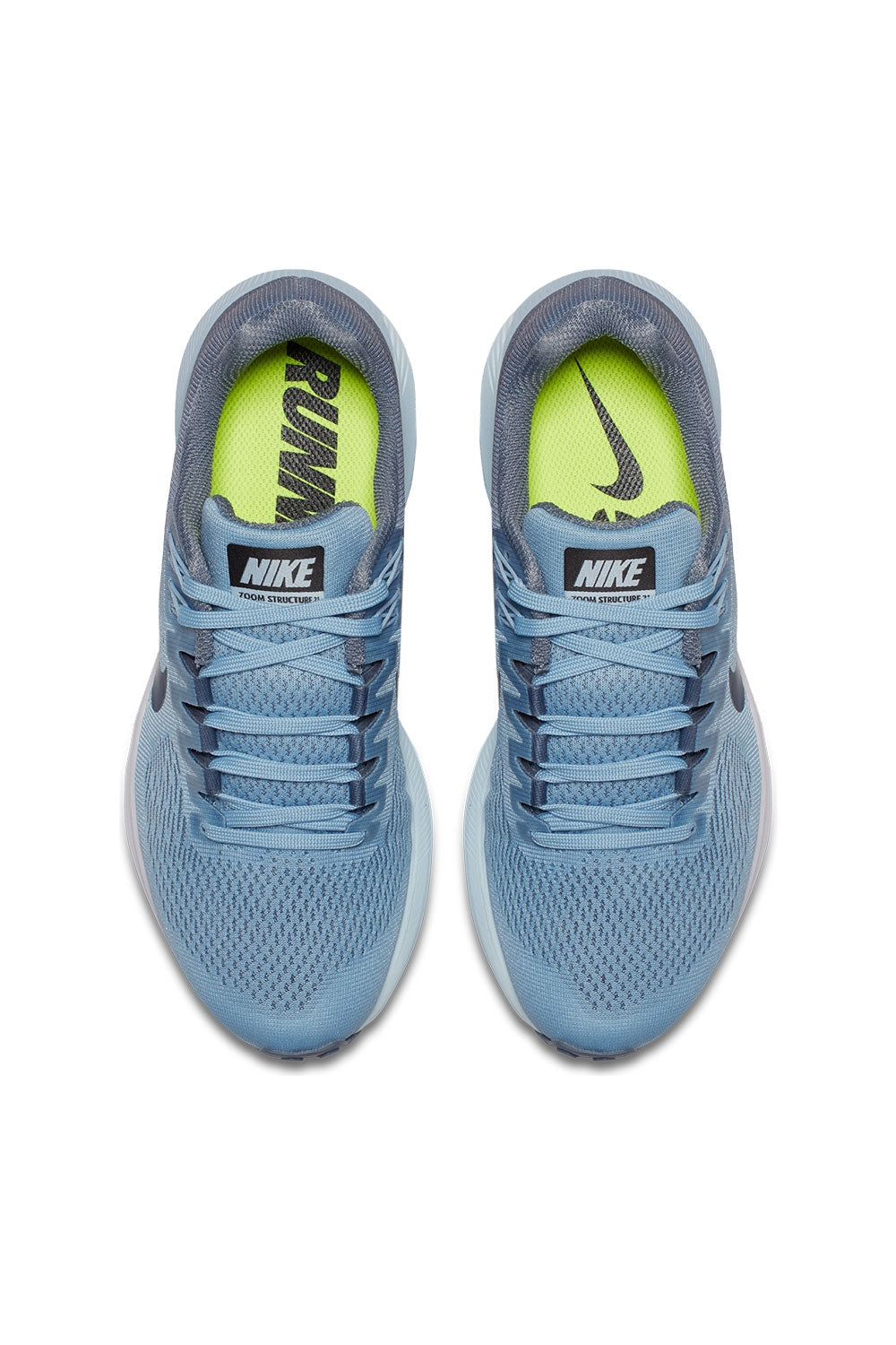 67cbf570a532d Nike Women s Air Zoom Structure 21 Running Shoe - Armory Blue Armory Navy Cirrus  ...