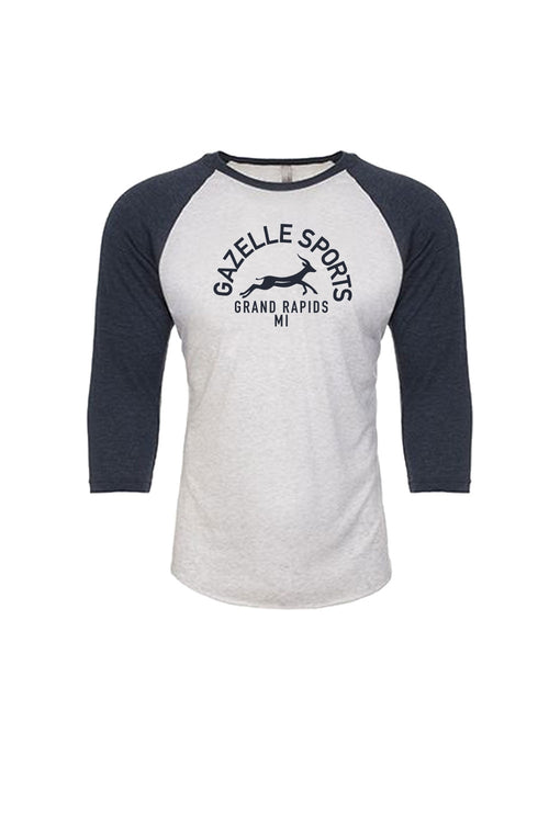 Unisex Gazelle Sports Grand Rapids 3/4 Raglan Top