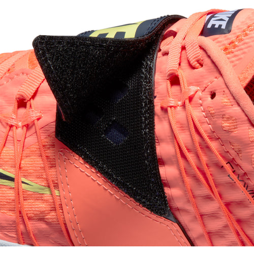 Unisex Triple Jump Elite Track Spike - Bright Mango/Blackened Blue/Purple Pulse