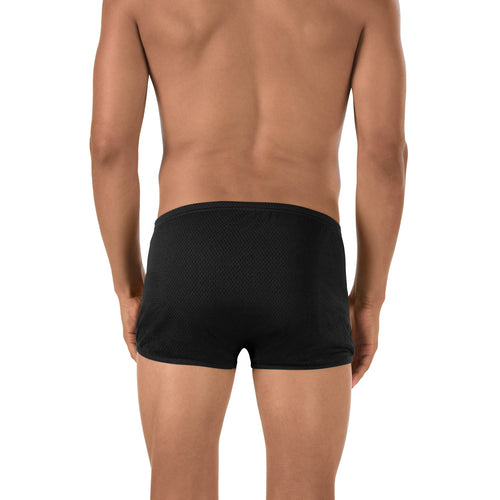 Men's Poly Train Swimsuit - Black