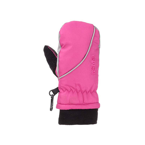 Children's Snowball Mittens - Pink