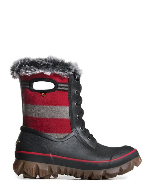 Women's Bogs Arcata Lace Stripe Insulated Boot