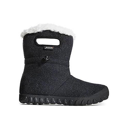 Women's Bogs B Moc Wool Boot - Black