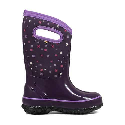 Kids Classic Plus Insulated Boot - Eggplant Multi