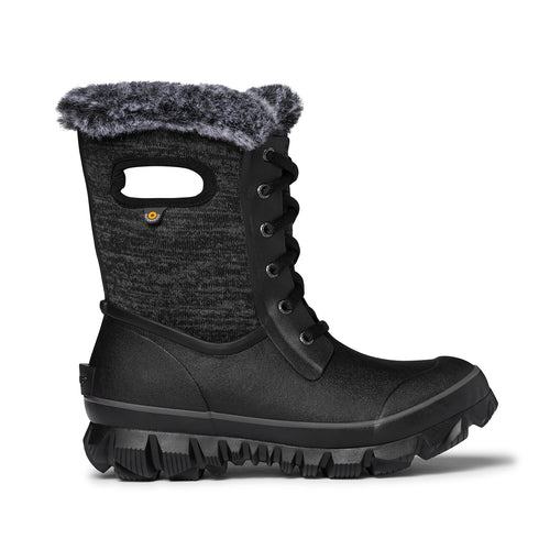 Women's Arcata Knit Winter Boot - Black